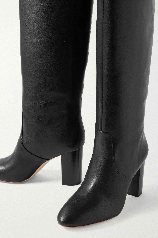 Loeffler Randall Goldy leather knee boots