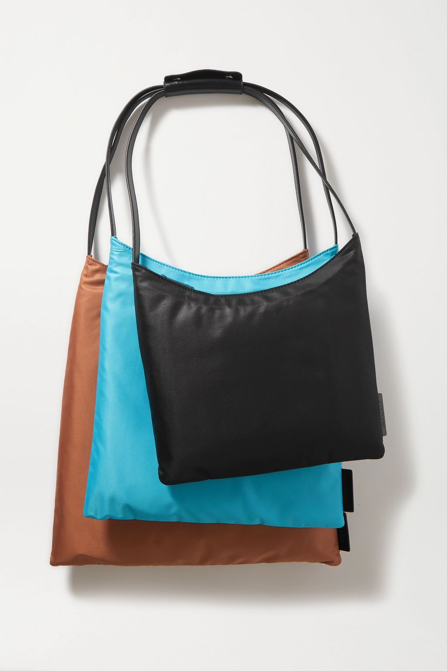 STAUD + New Balance set of three shell totes