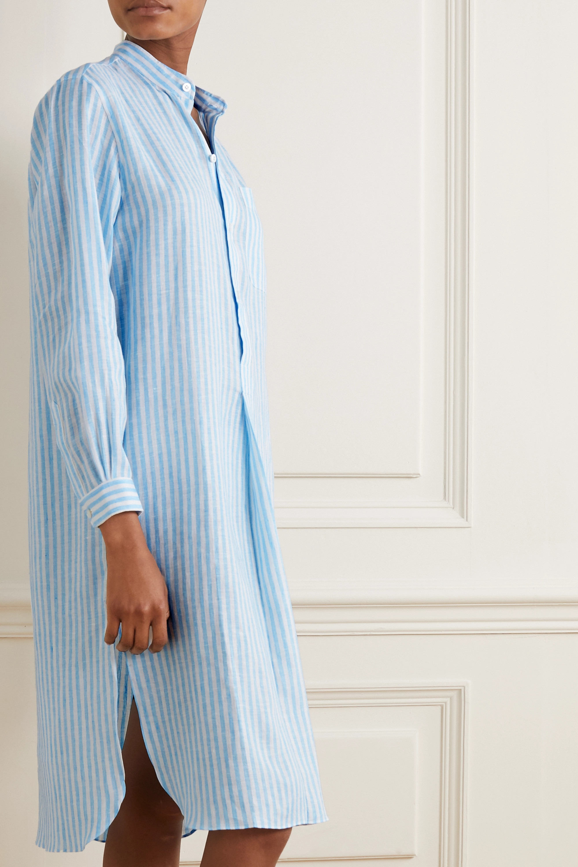 Charvet Elysee Oversized-Nachthemd aus Baumwollpopeline