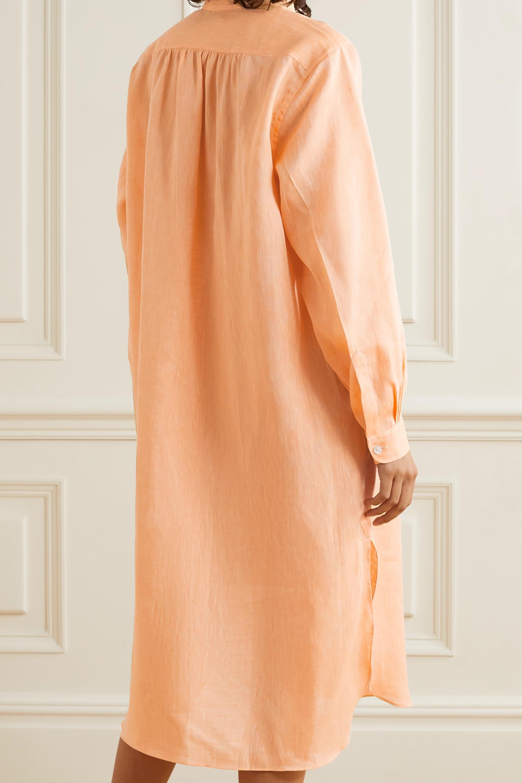 Charvet Elysee oversized linen nightdress