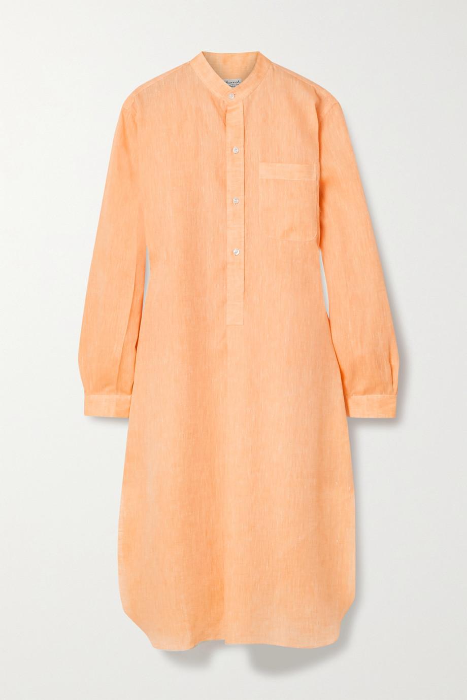Charvet Elysee Oversized-Nachthemd aus Leinen