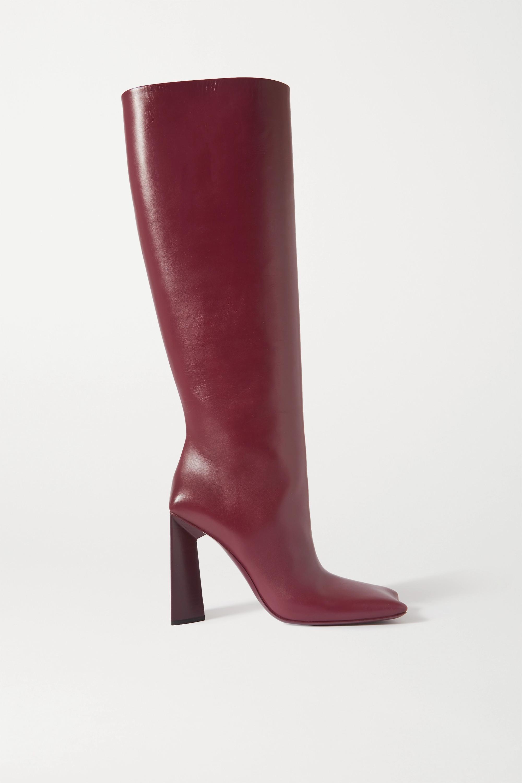 Balenciaga Moon leather knee boots