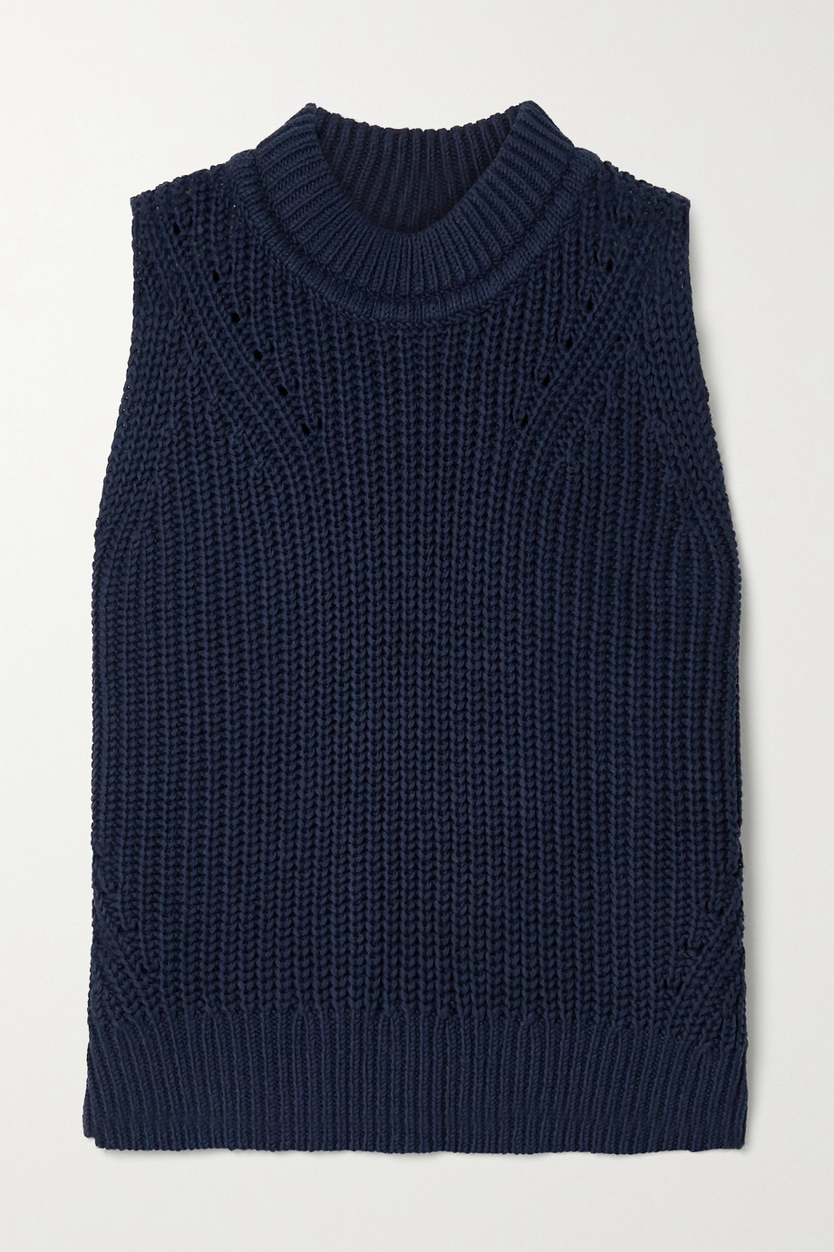 La Ligne Ribbed cotton sweater