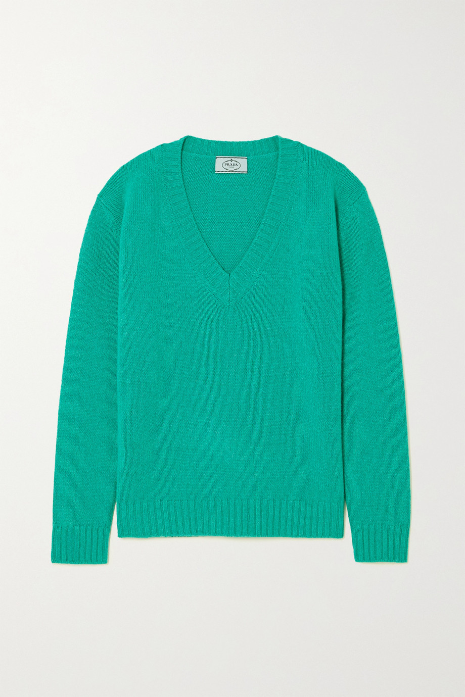 Prada Wool and cashmere-blend sweater