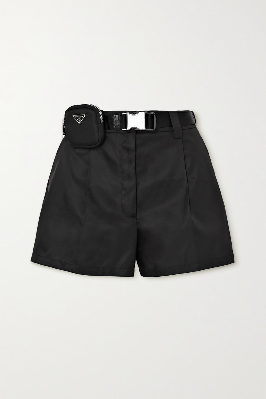 Prada Short en nylon à ceinture