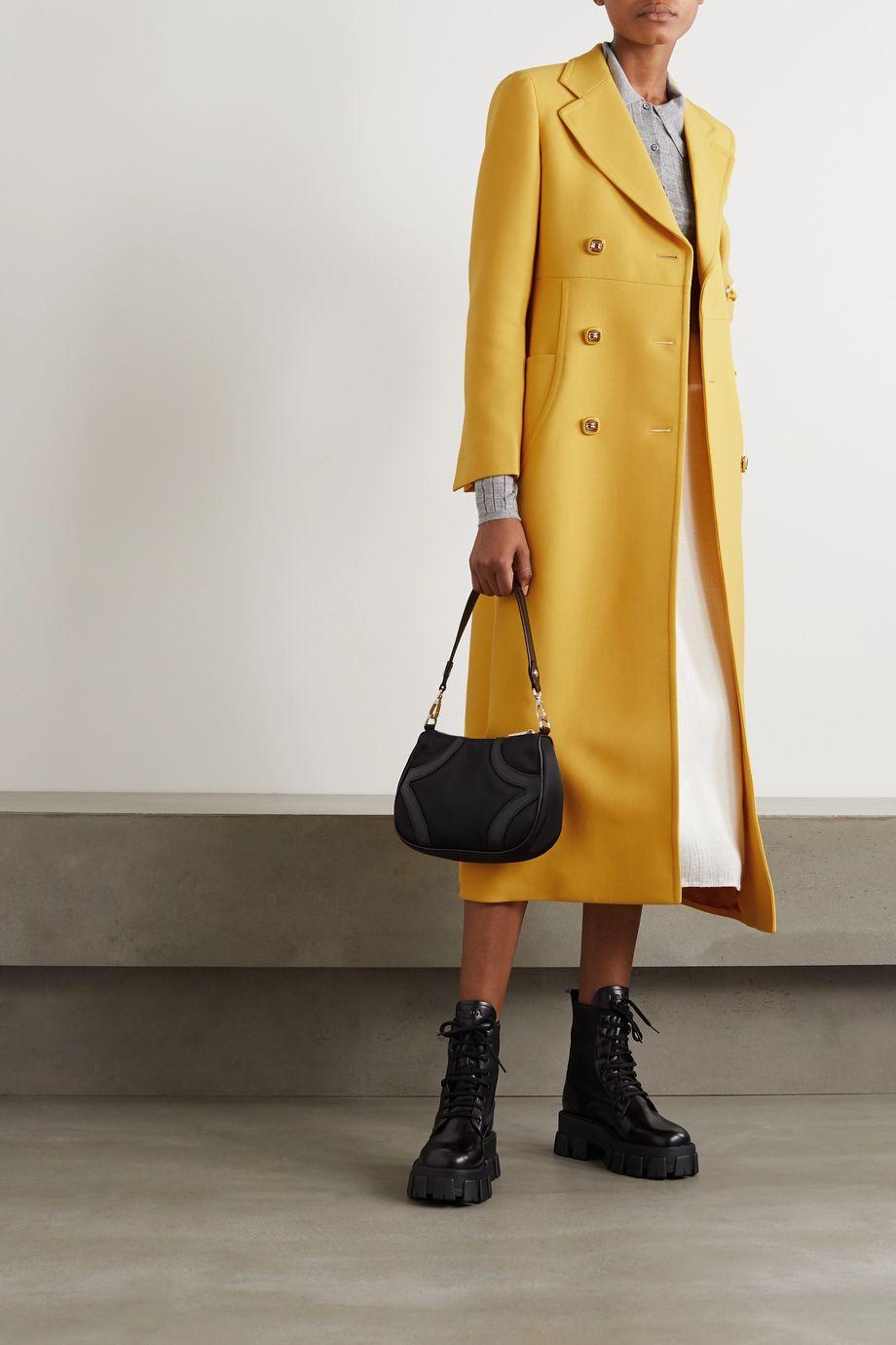 Prada Manteau à double boutonnage en laine