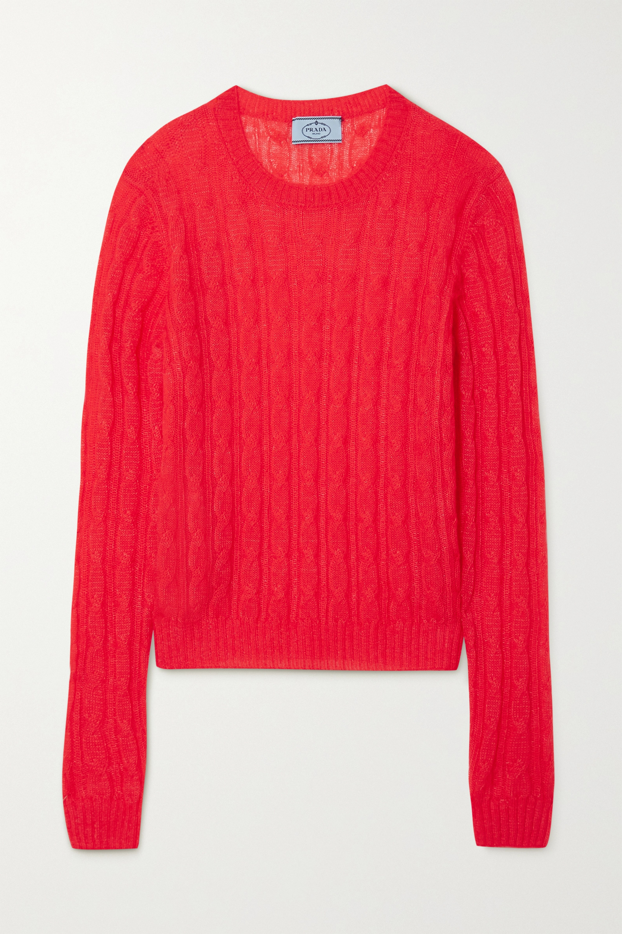 Prada Cable-knit sweater