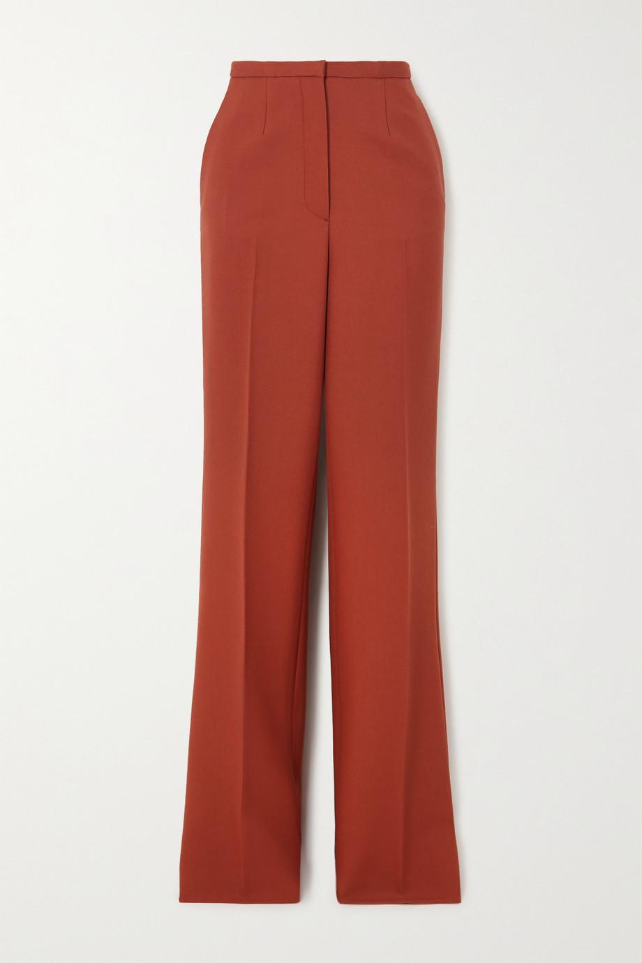 Prada Pantalon droit en laine