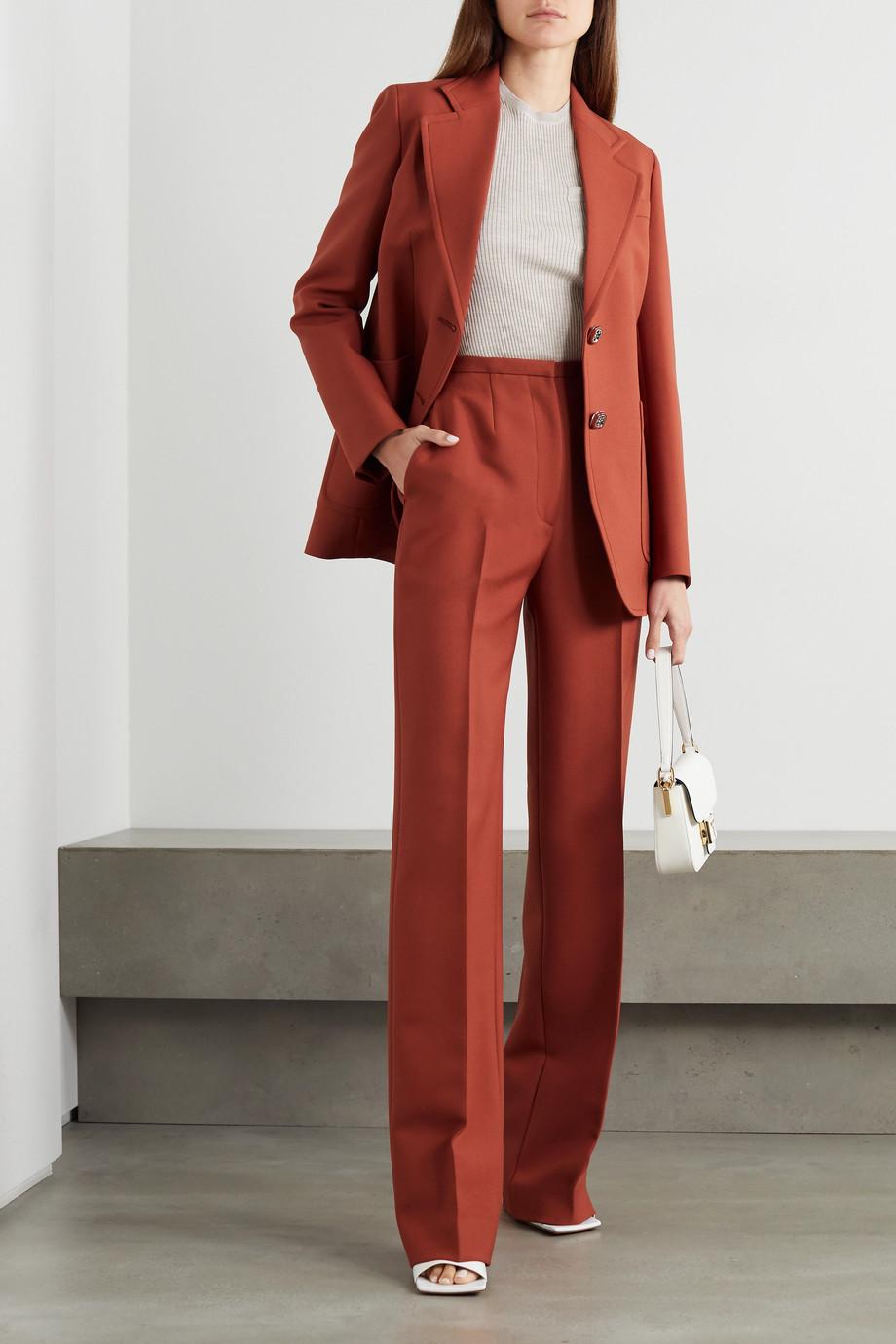 Prada Wool straight-leg pants