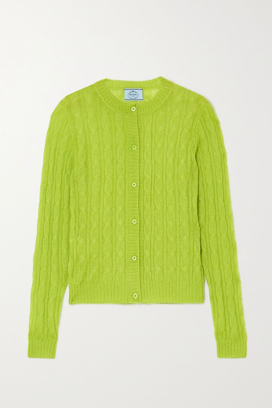 Prada Cable-knit cardigan