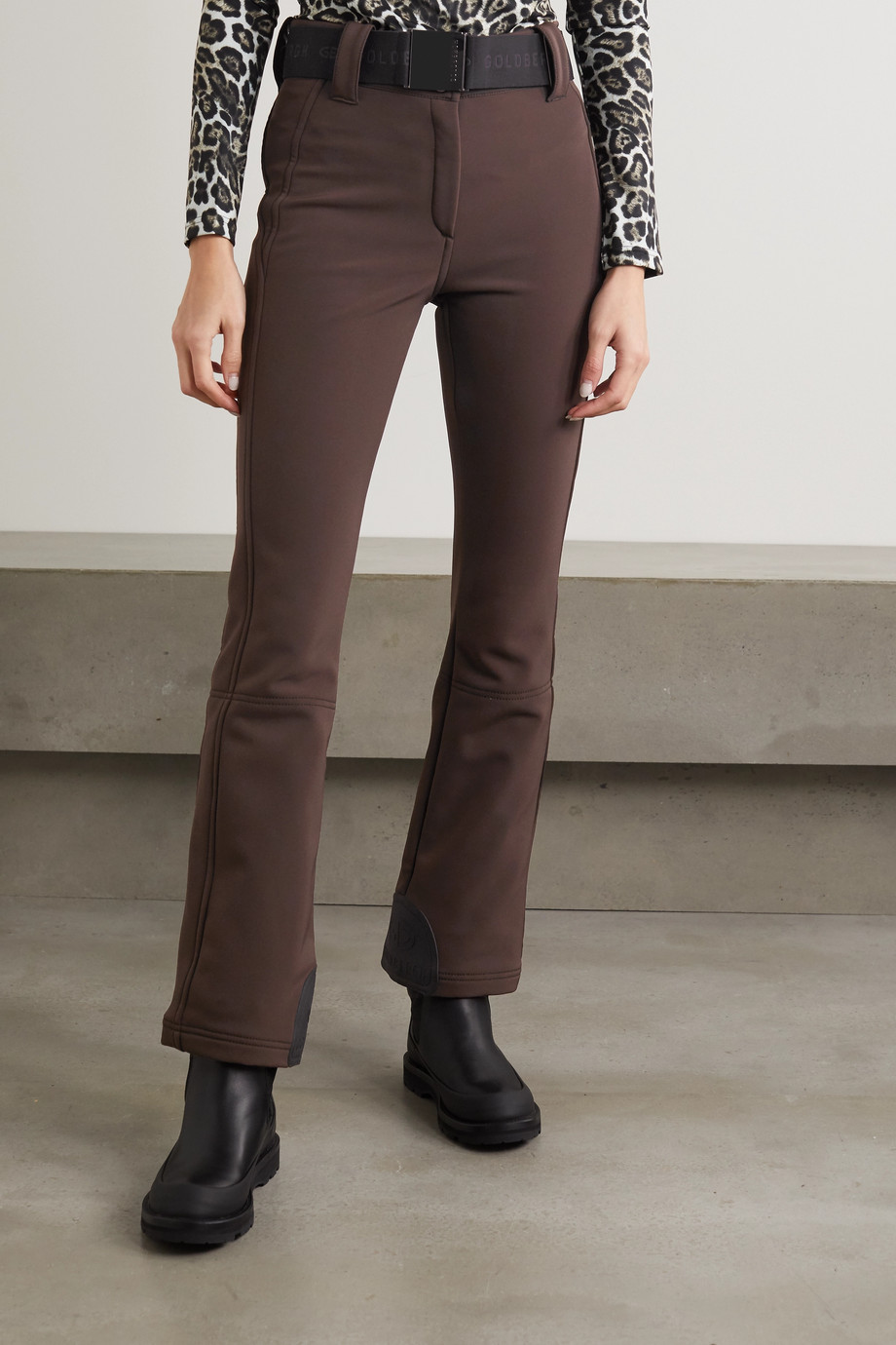 Goldbergh Pippa belted flared ski pants