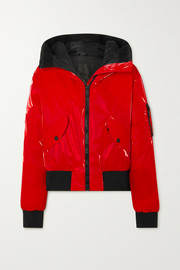 Goldbergh Bomba hooded down ski jacket