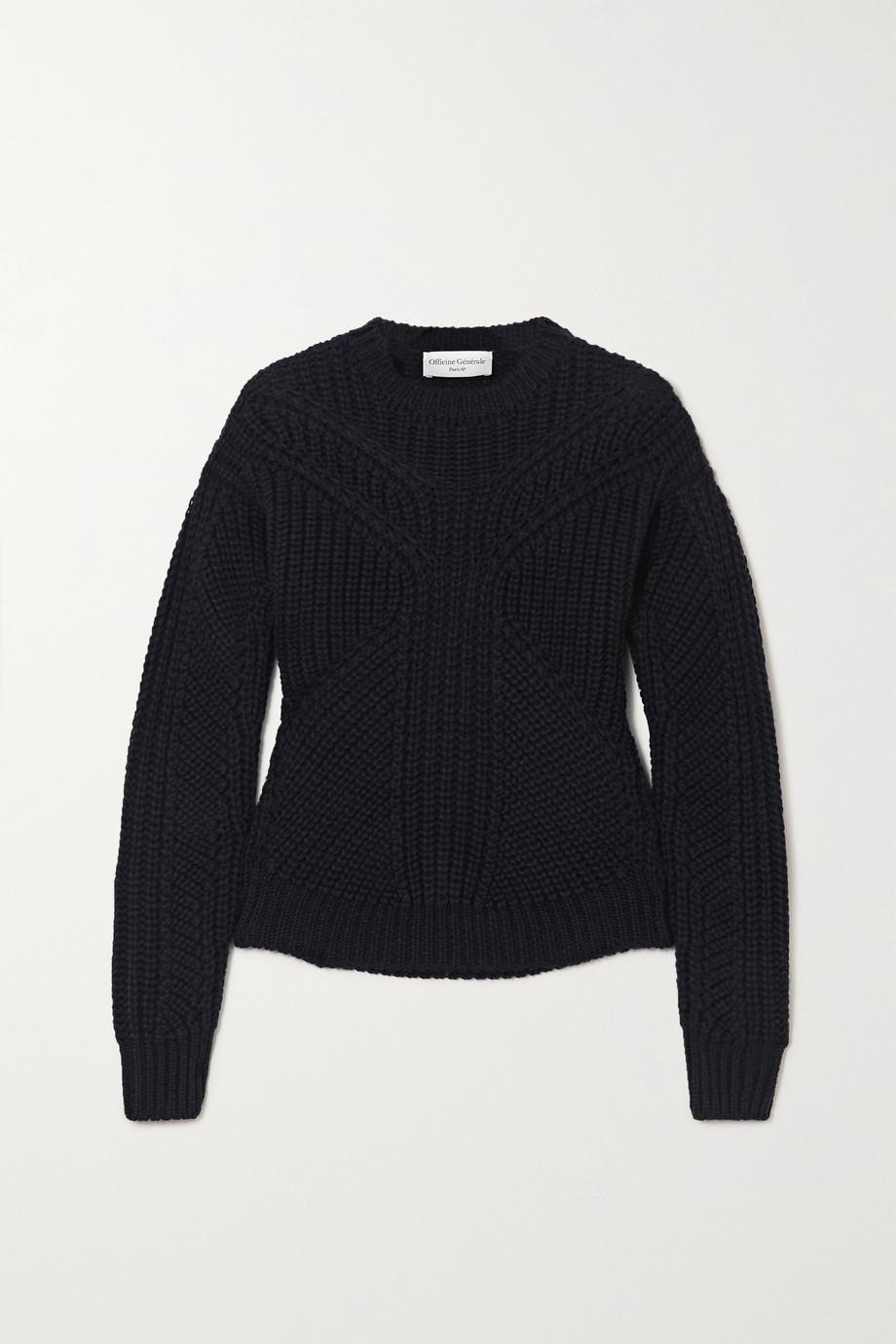 Officine Générale Anita ribbed wool sweater
