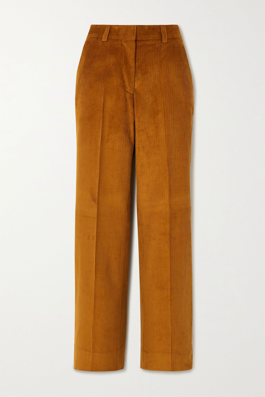 Officine Générale Celeste Hose mit geradem Bein aus Baumwollcord