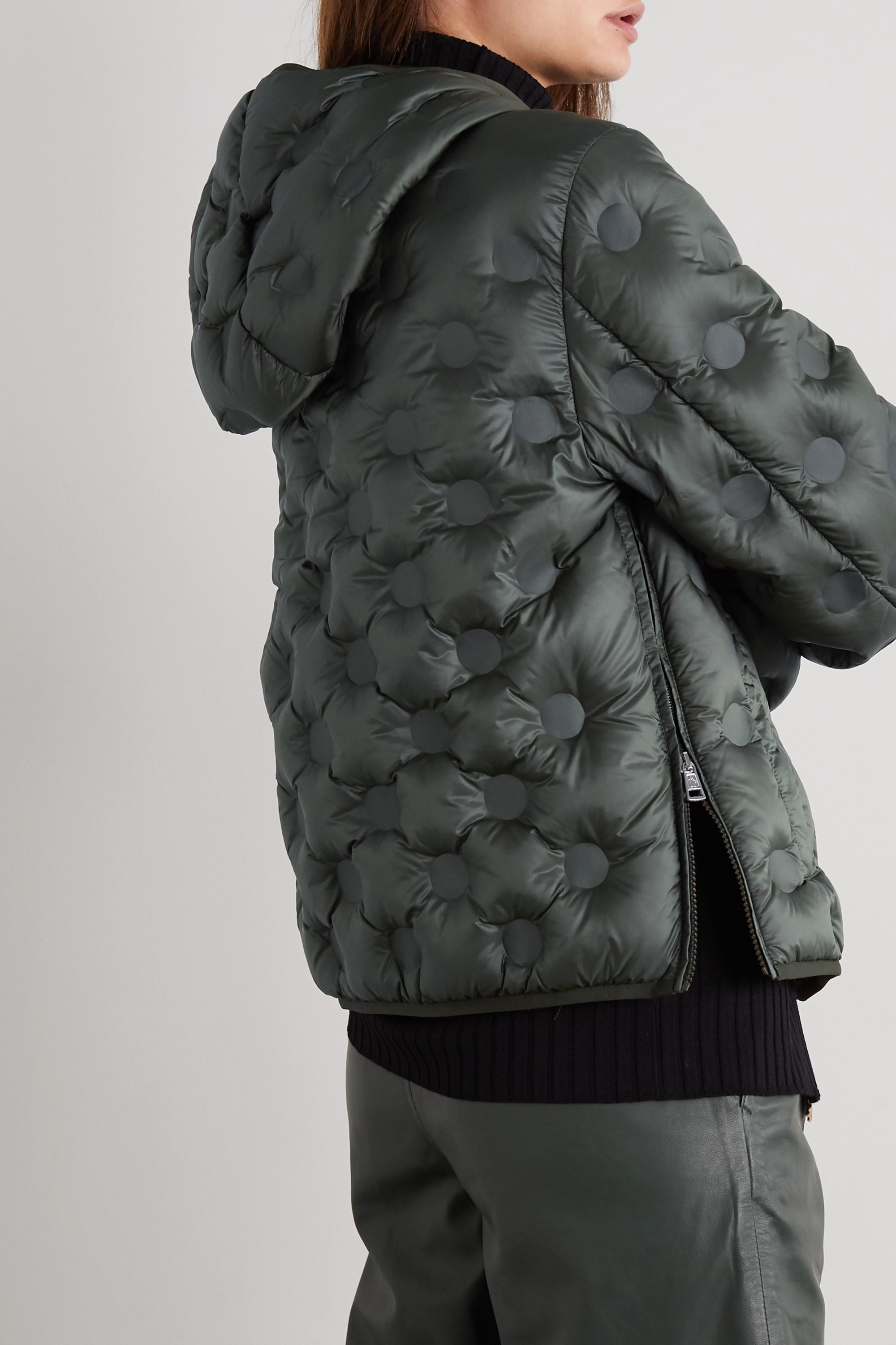Moncler Genius + 1 JW Anderson Abbotts hooded quilted shell down jacket