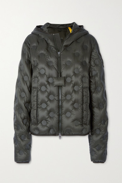 MONCLER GENIUS 1 JW ANDERSON ABBOTTS HOODED QUILTED SHELL DOWN JACKET