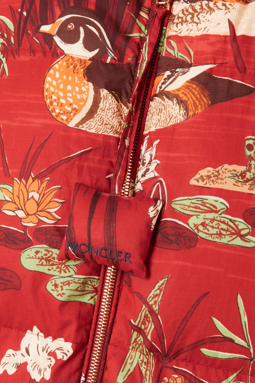 Moncler Genius + 1 JW Anderson Battersea printed cotton-shell vest