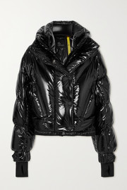 Moncler Genius Giubbotto quilted down ski jacket