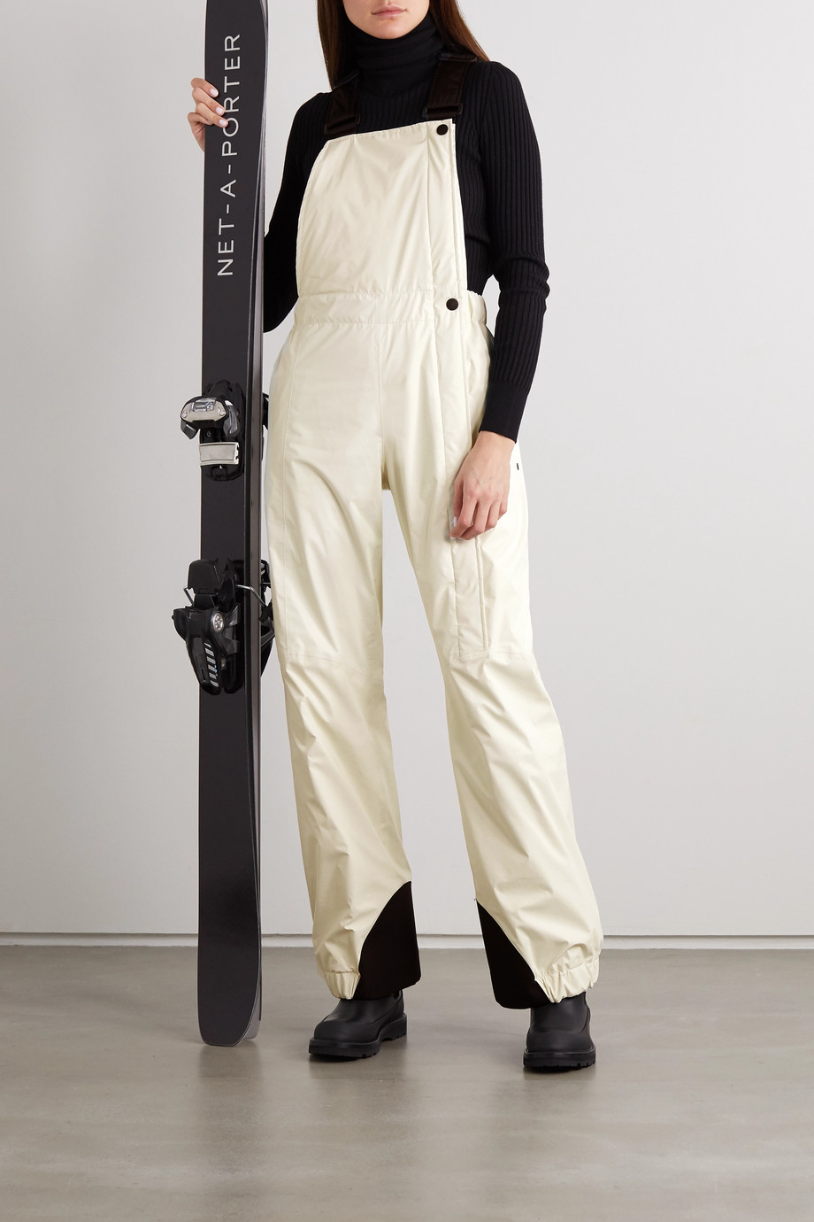 Moncler Genius Two-tone ski salopettes