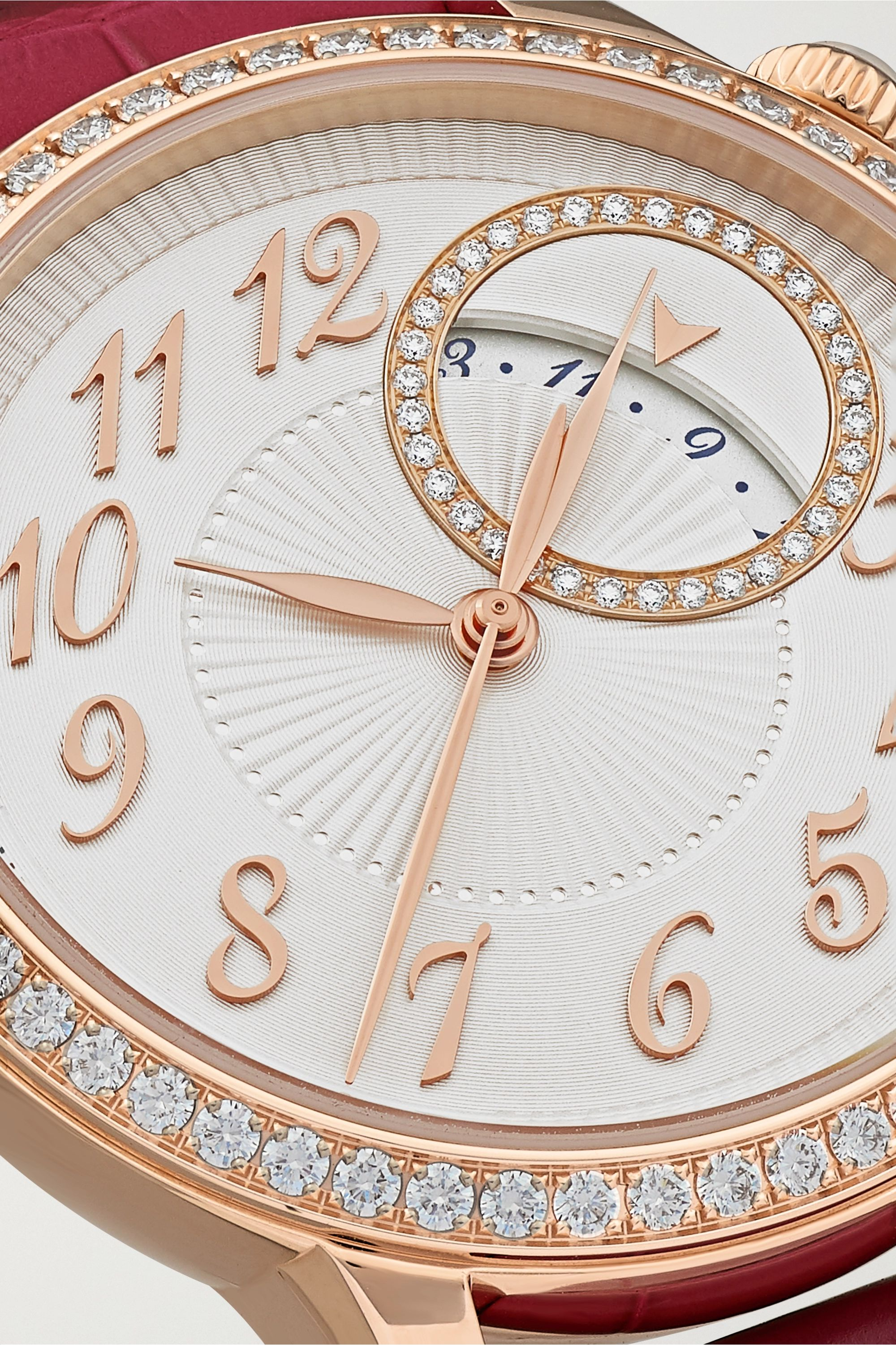 Vacheron Constantin Egérie Automatic 35mm 18-karat pink gold and diamond watch