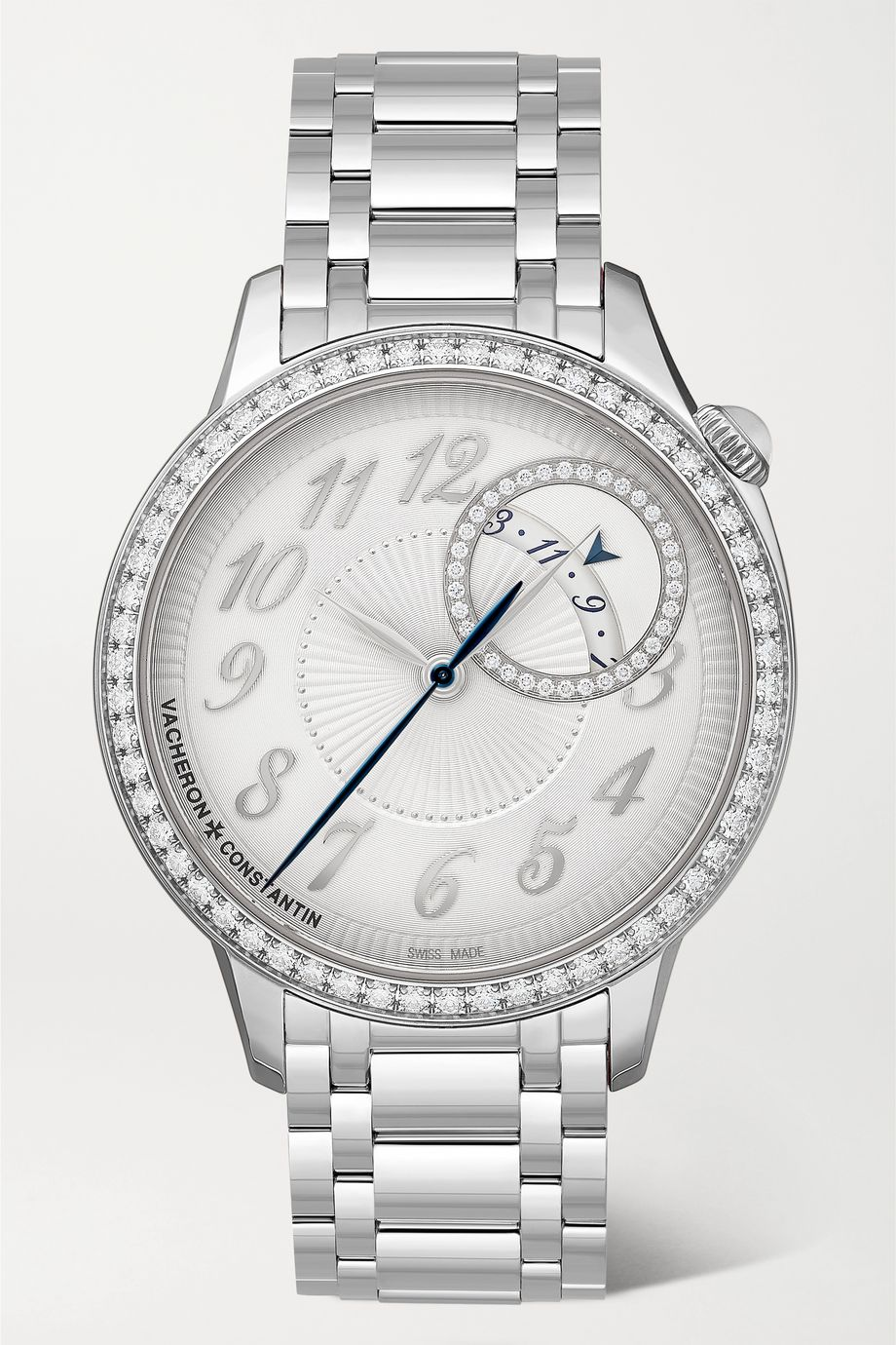 Vacheron Constantin Egérie Automatic 35mm stainless steel and diamond watch