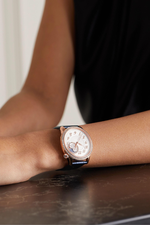 Vacheron Constantin Egérie Automatic 37mm 18-karat pink gold and diamond watch