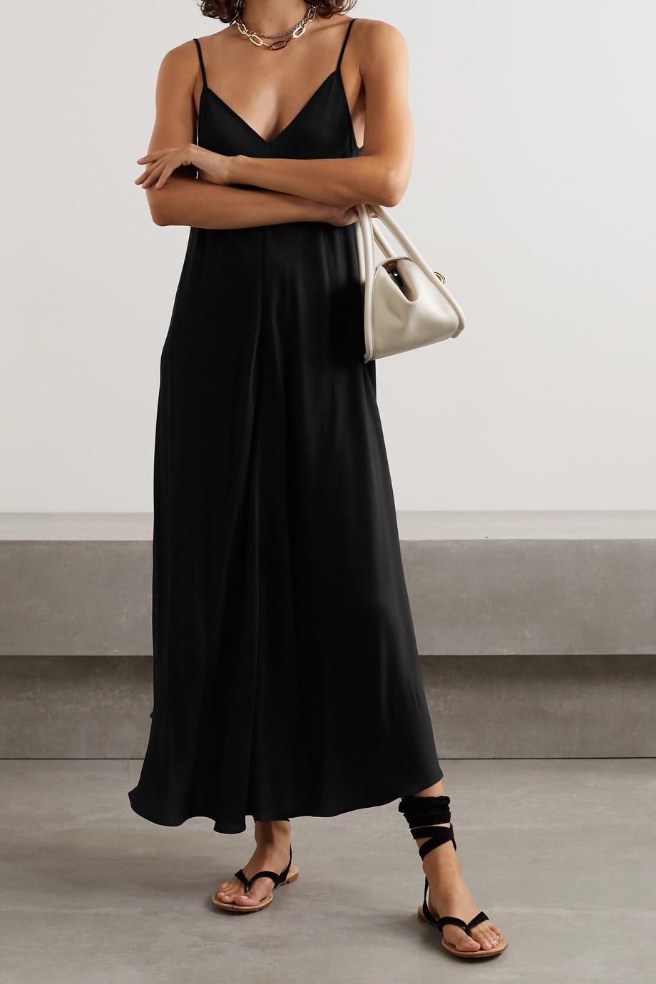 L'Agence Lorraine asymmetrisches Kleid aus Crêpe