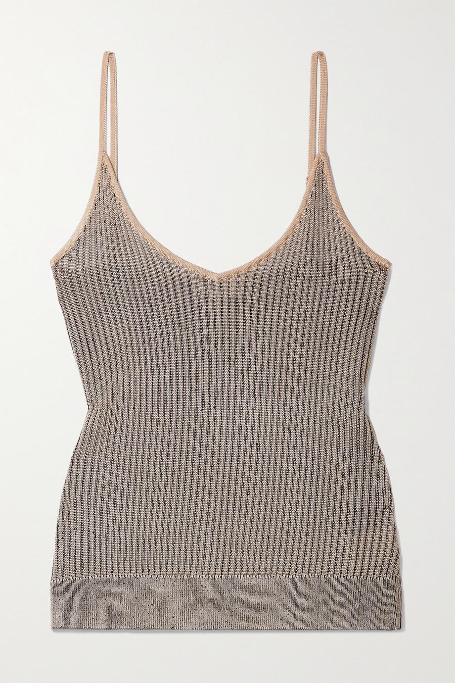L'Agence Hayek ribbed-knit tank