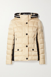 Bogner Giulia-D hooded layered quilted down ski jacket