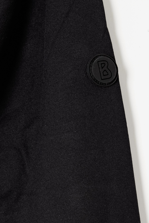 Bogner Dimitra striped stretch-jersey turtleneck top