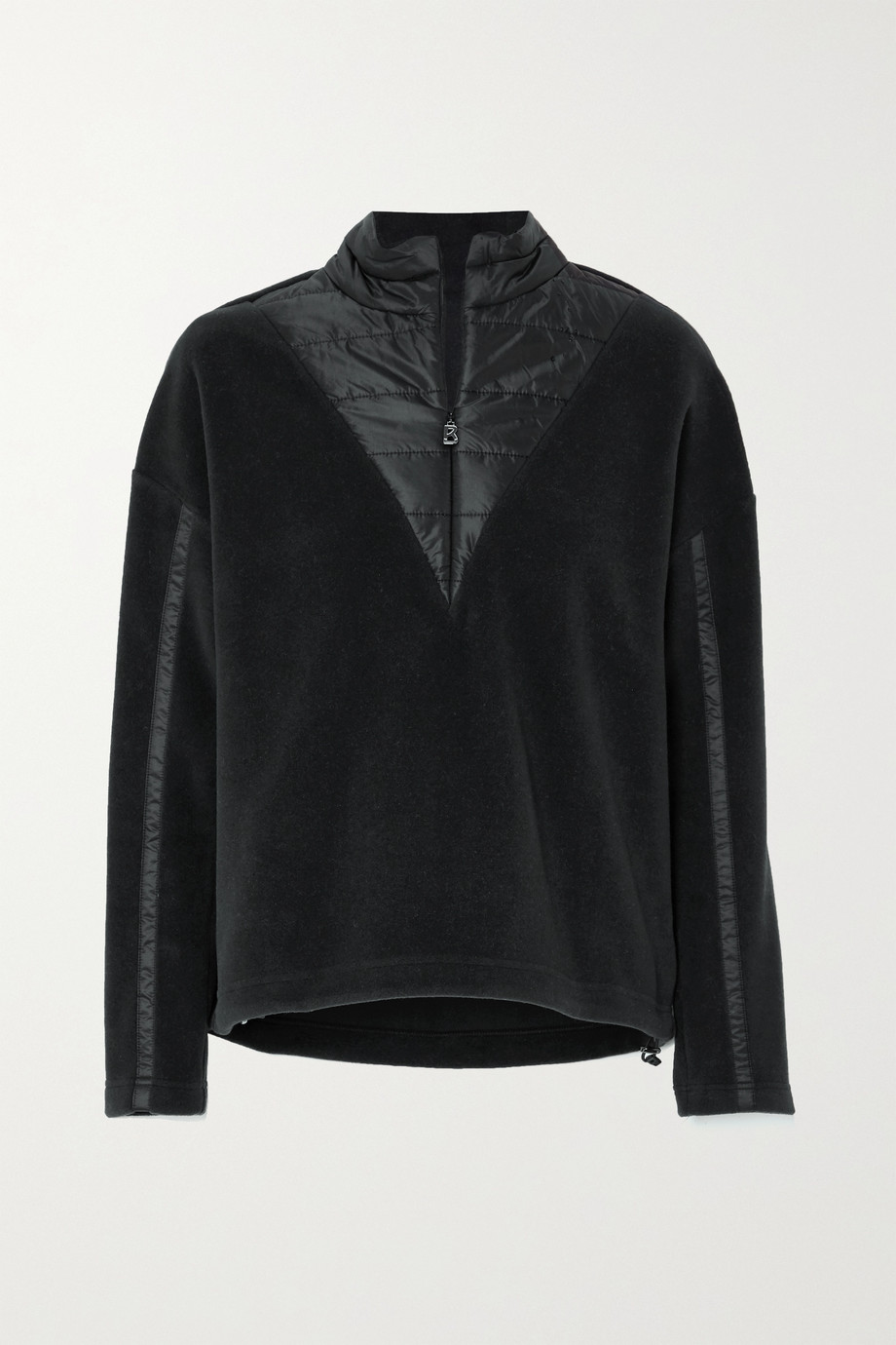 Bogner Duana fleece and quilted shell sweatshirt