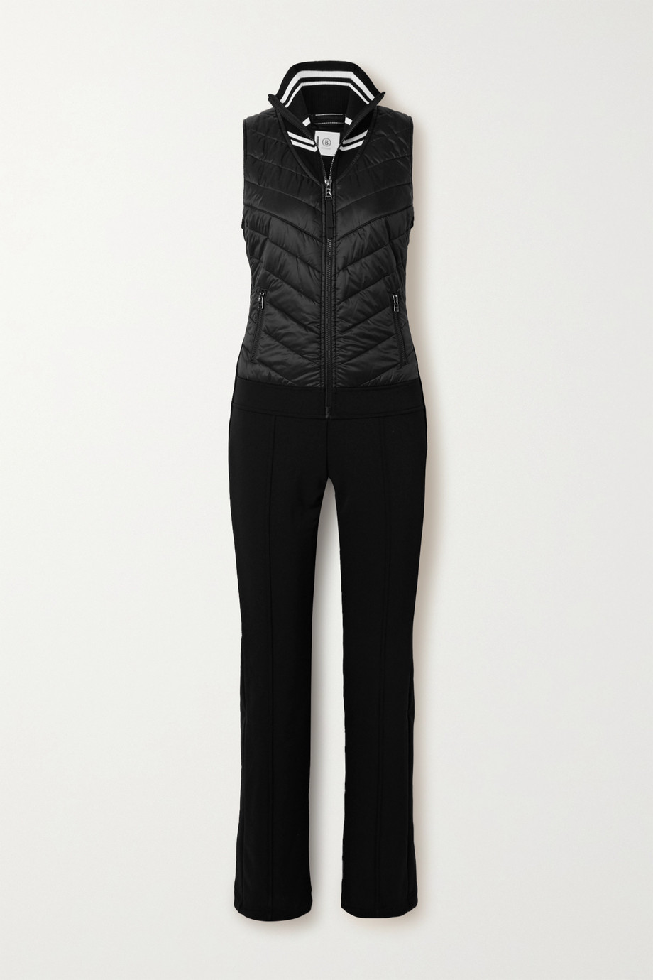 Bogner Carys quilted shell and ponte ski suit