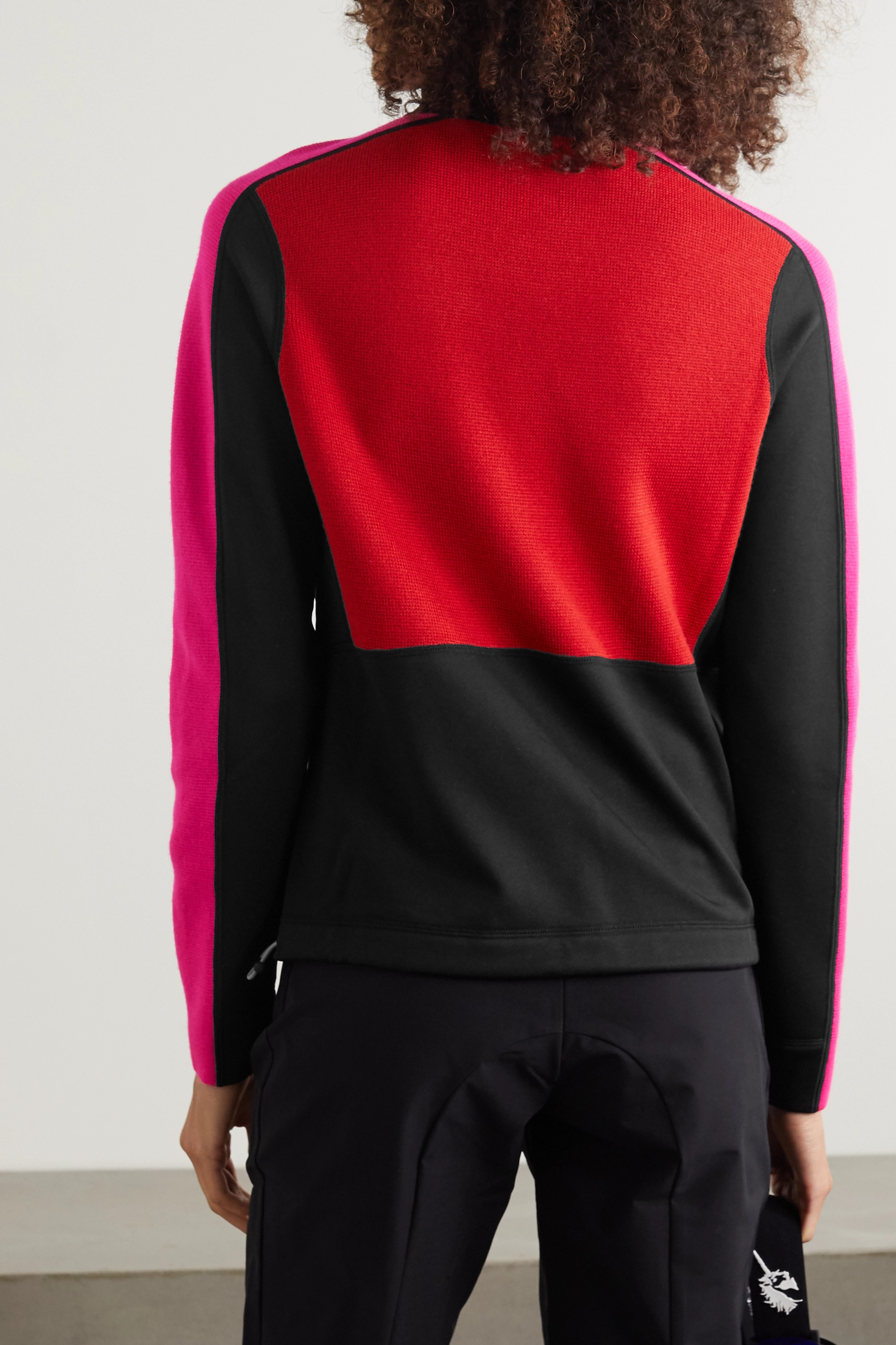 BOGNER FIRE+ICE Babsy wool-blend and stretch-jersey ski sweater