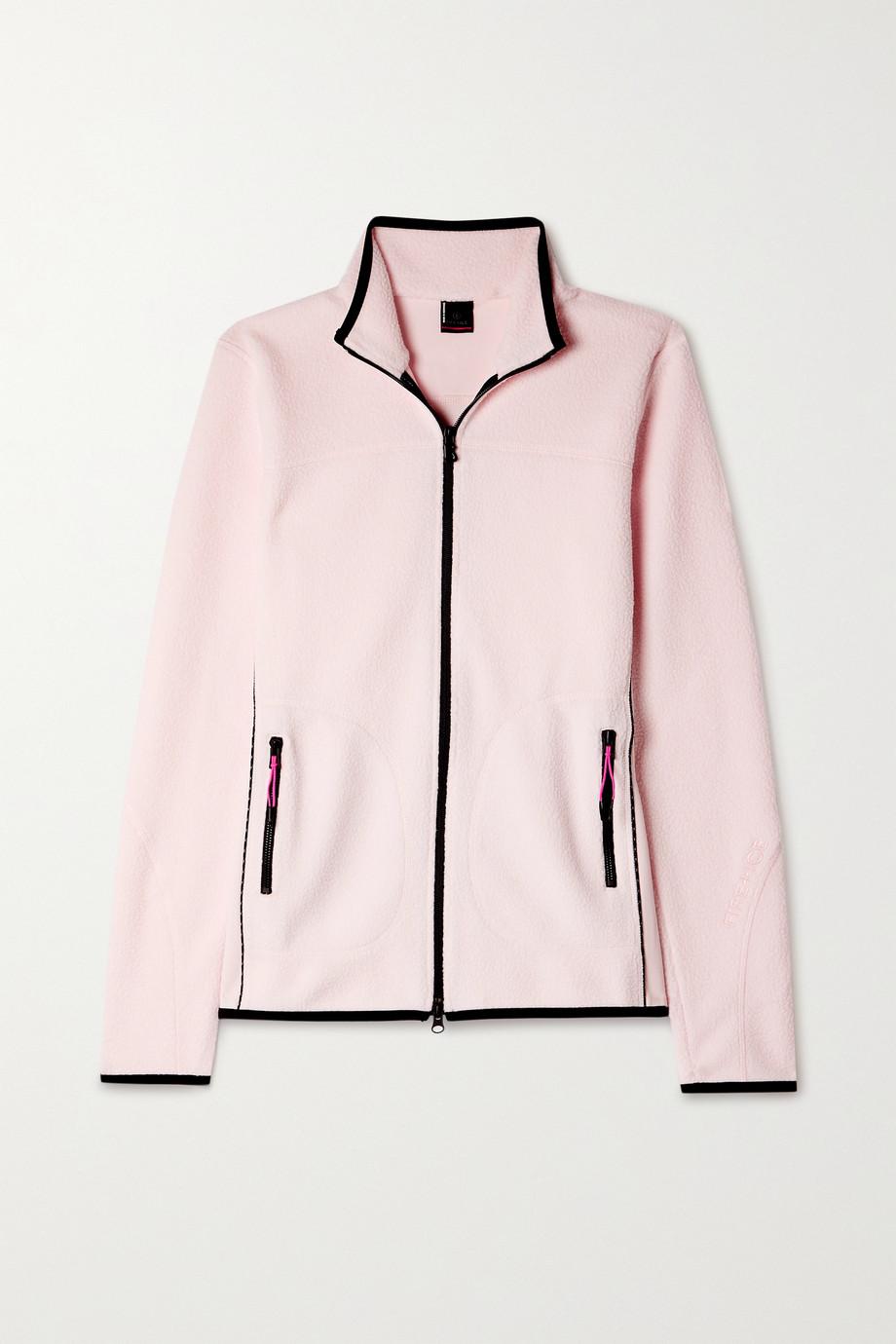 BOGNER FIRE+ICE Gilda jersey-trimmed fleece jacket