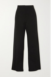 LESET Lori stretch-jersey wide-leg pants