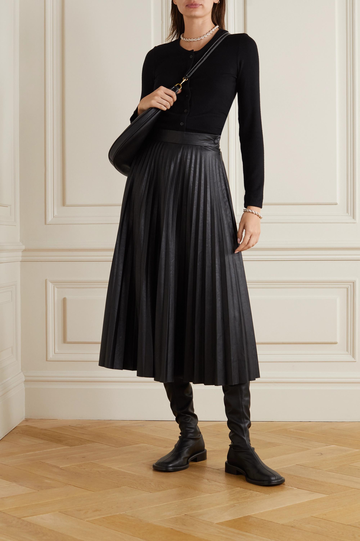 LESET Lori stretch-knit cardigan