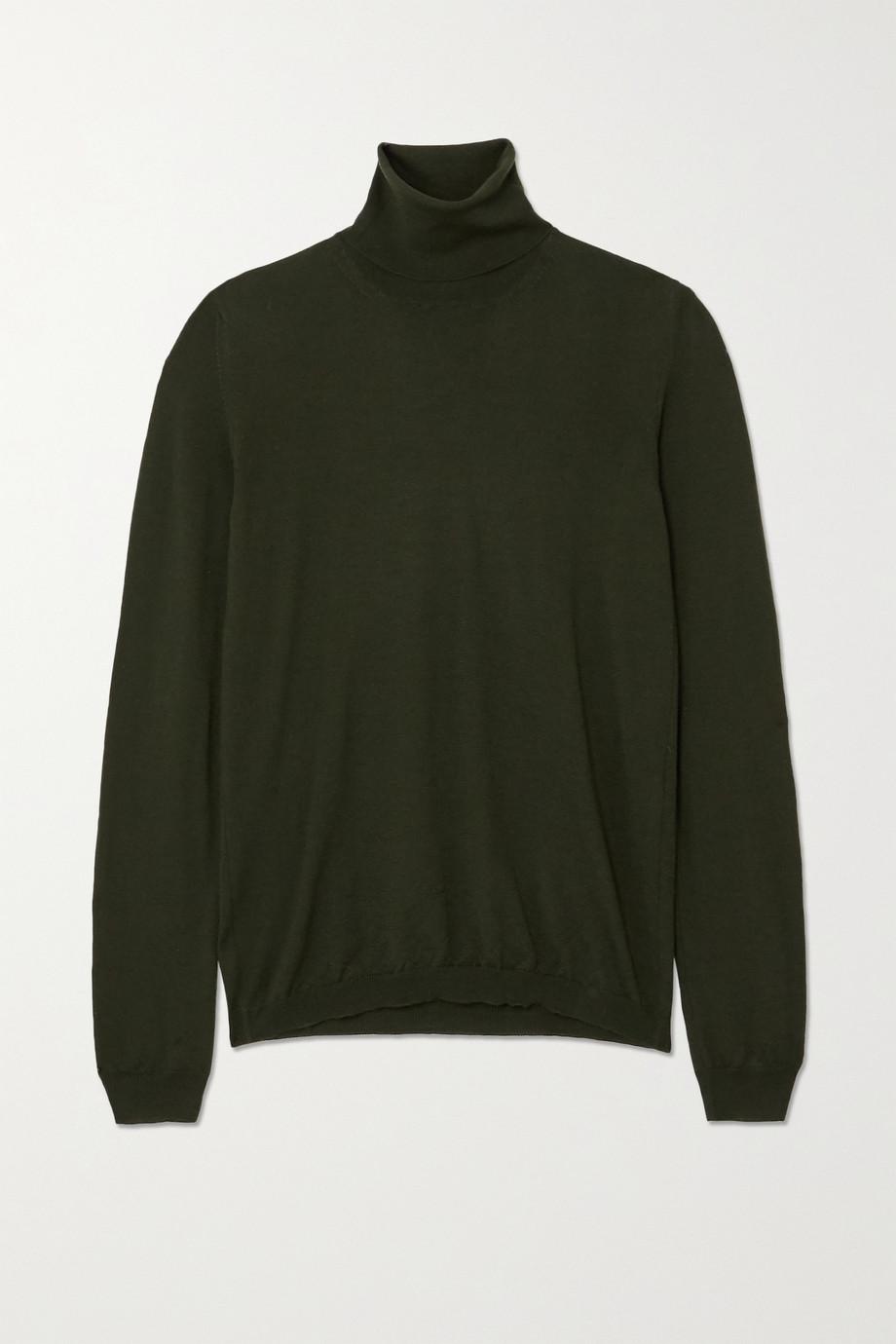 Giuliva Heritage + NET SUSTAIN The Arianna wool turtleneck sweater