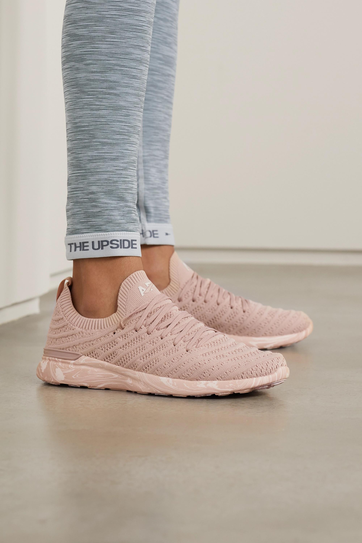 Pink TechLoom Wave mesh sneakers   APL
