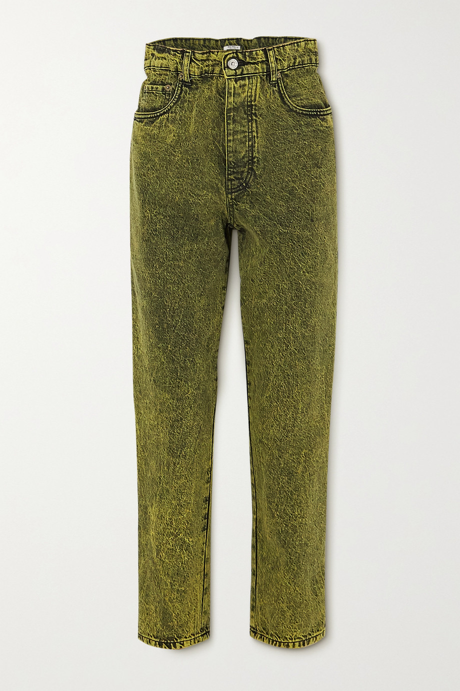 Miu Miu Acid-wash denim jeans