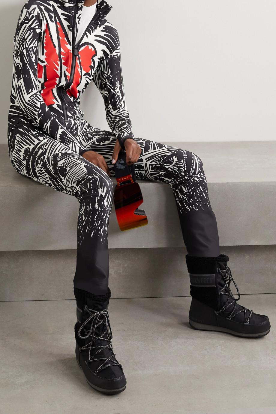 Moncler Genius + 3 Moncler Grenoble Tuta printed ski suit