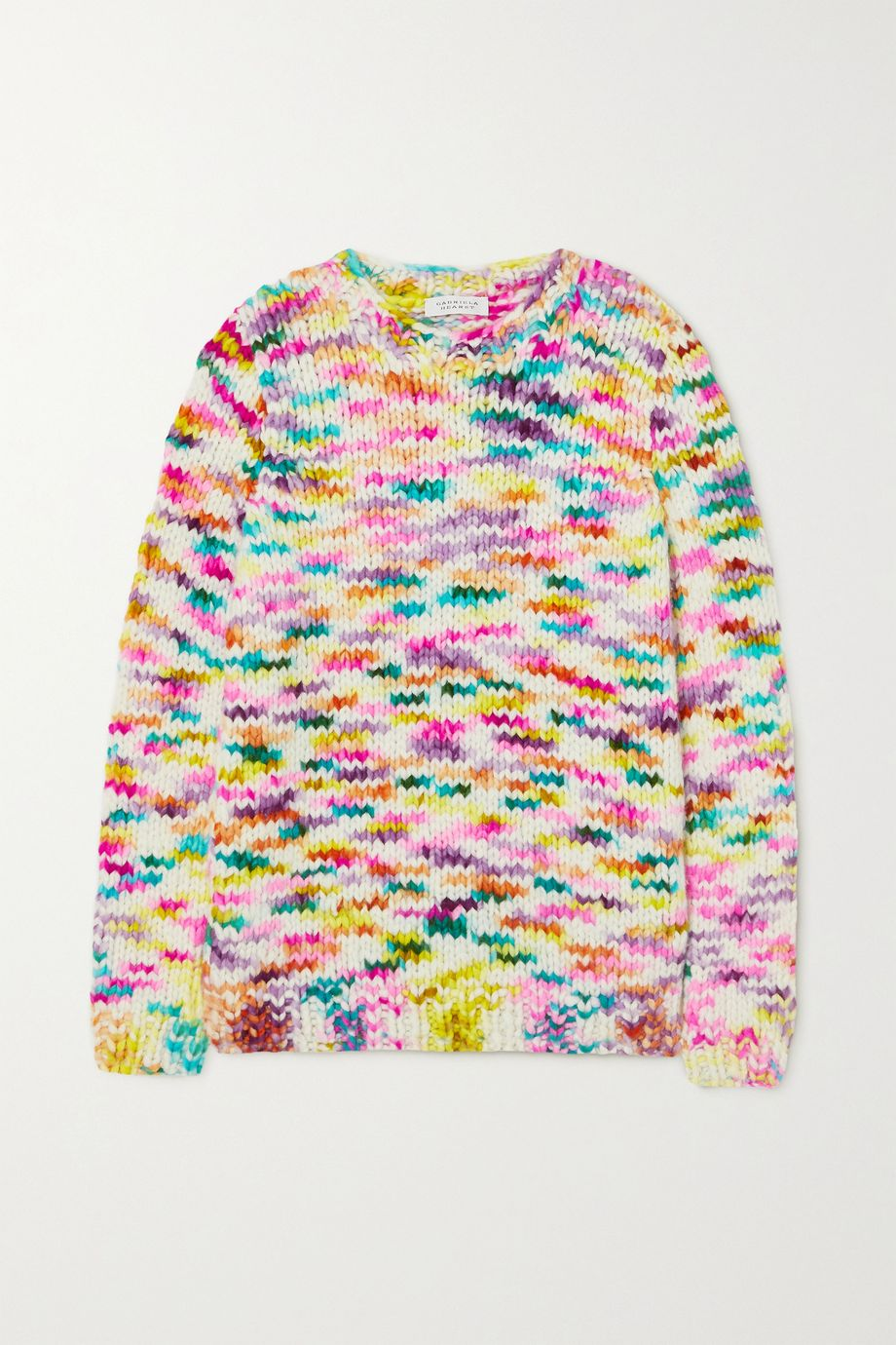 Gabriela Hearst Lawrence space-dyed cashmere sweater