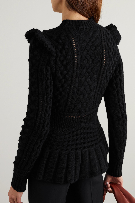 Gabriela Hearst Martha crocheted cashmere sweater