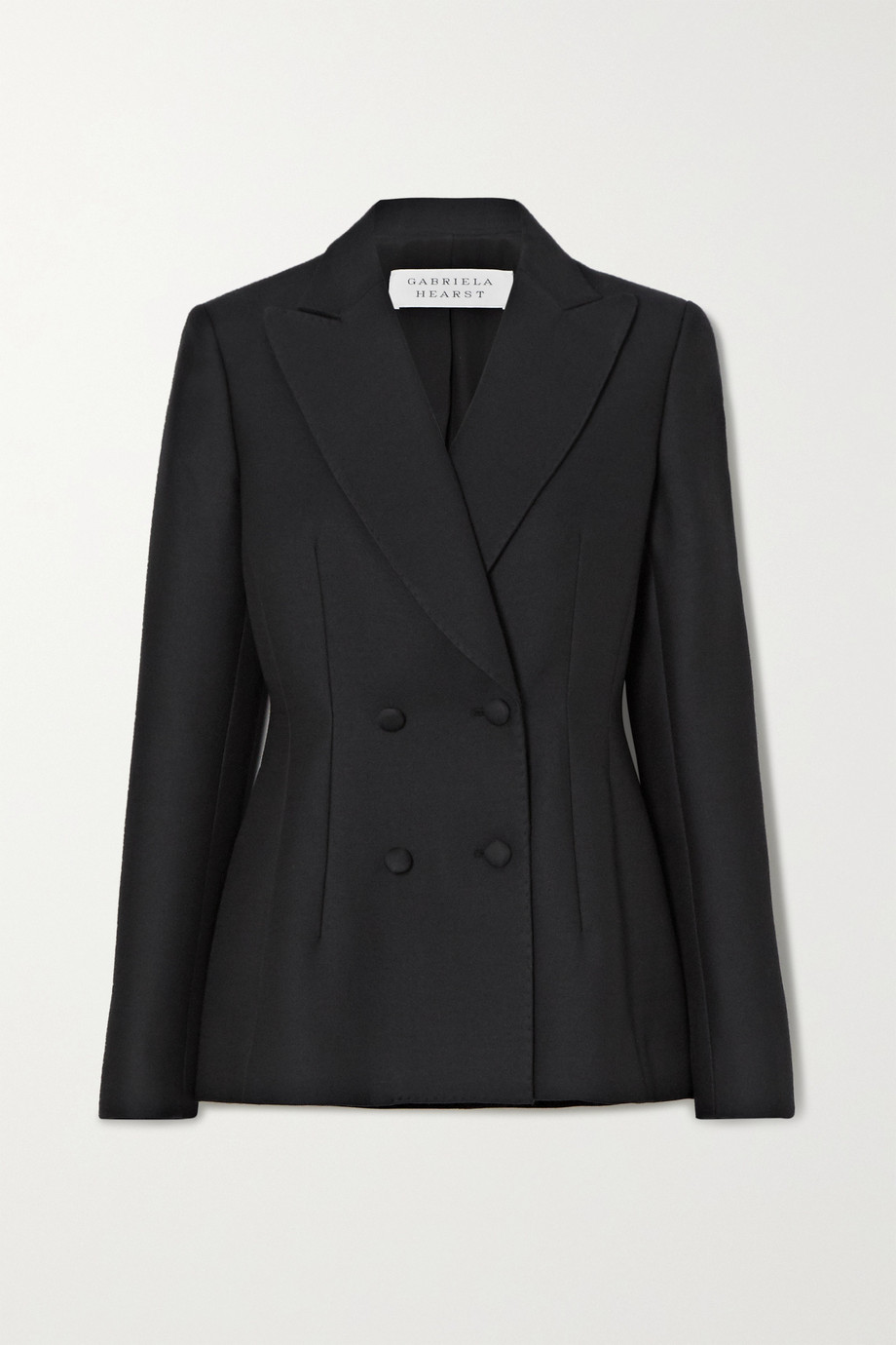 Gabriela Hearst Rezi double-breasted wool-cady blazer