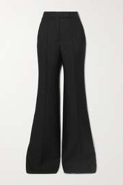 Gabriela Hearst Leda wool-cady flared pants
