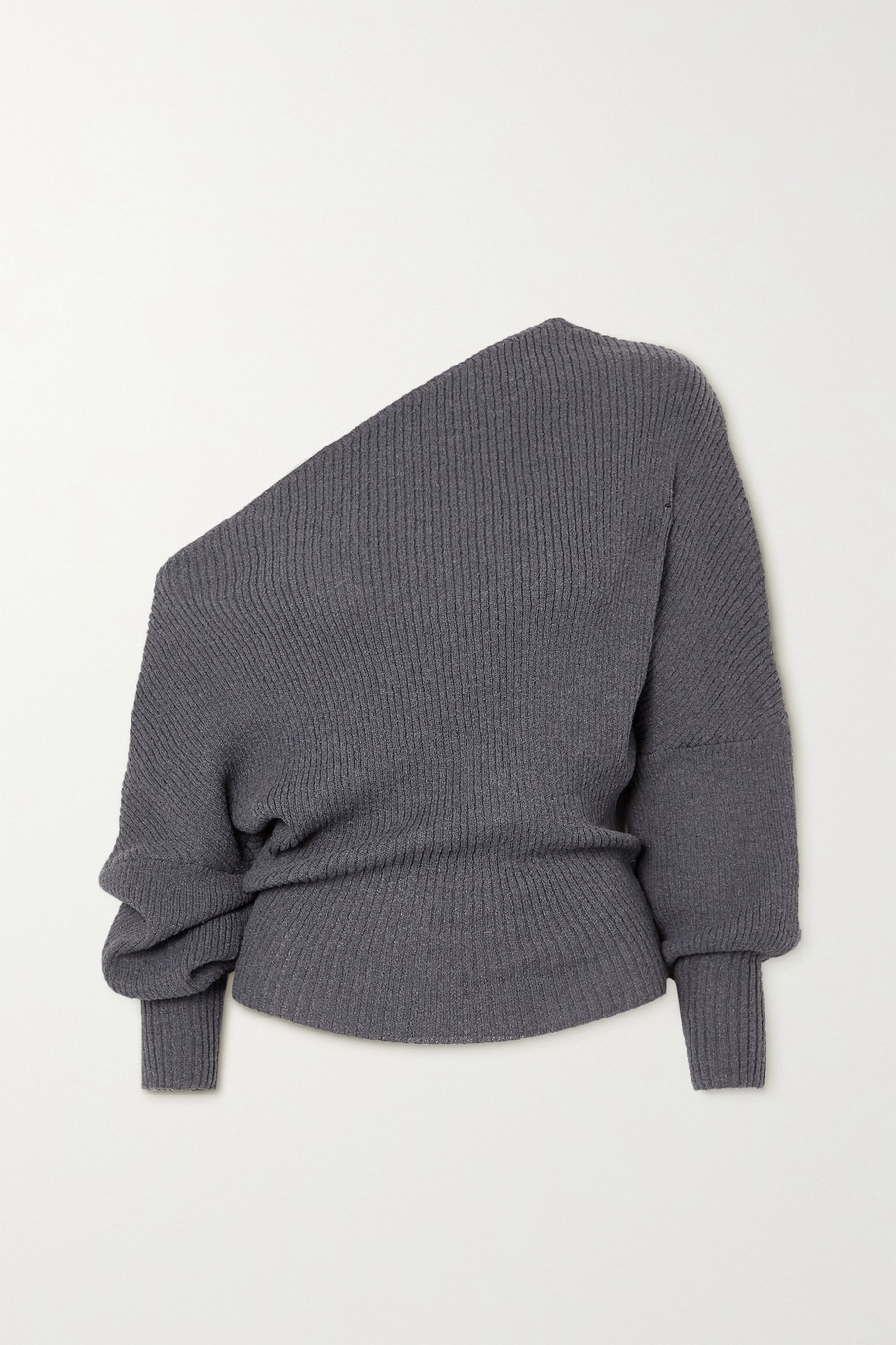 The Line By K Leon off-the-shoulder ribbed-knit sweater