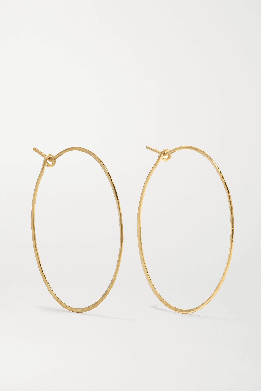 Brooke Gregson 18-karat gold hoop earrings
