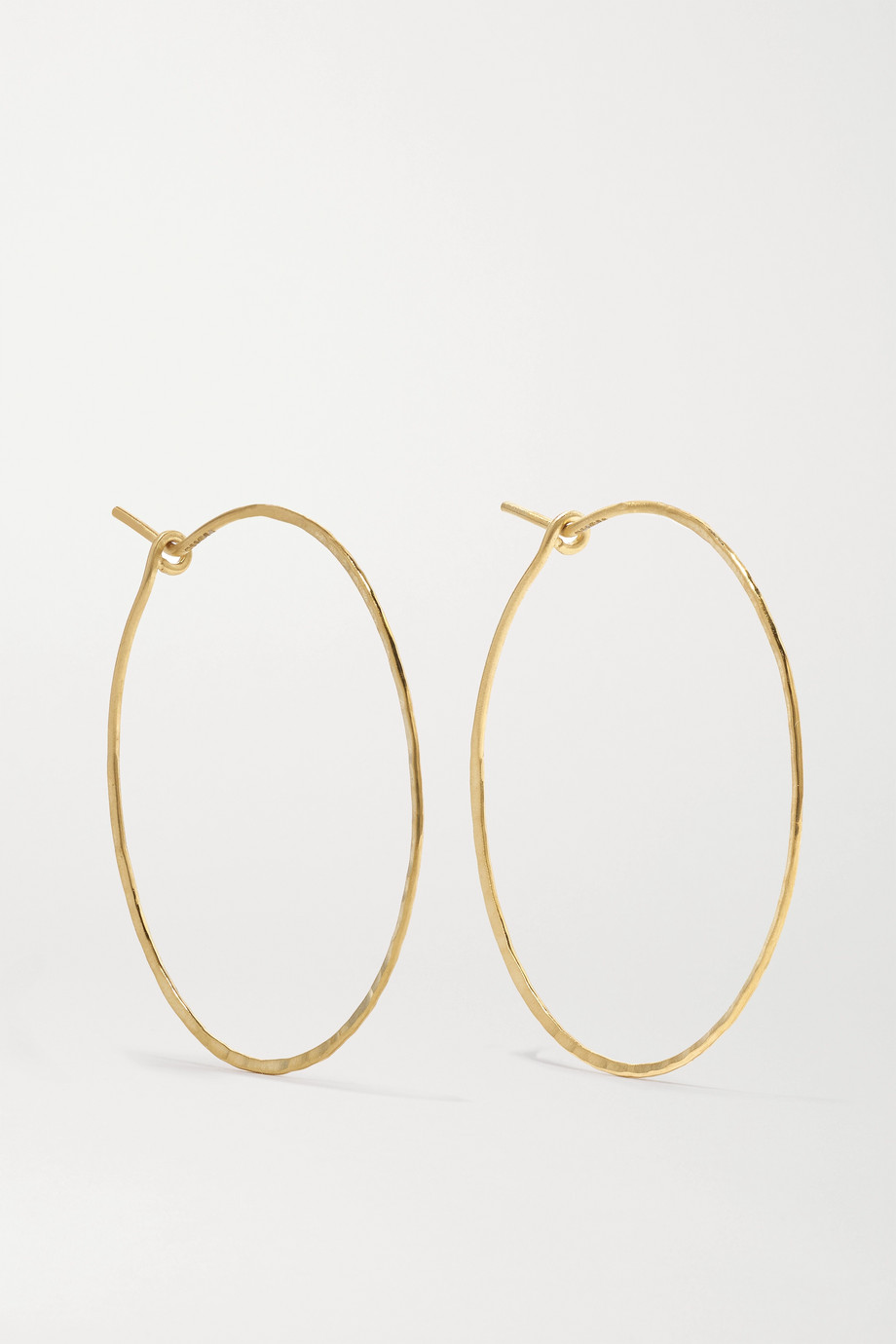Brooke Gregson 18-karat gold hoop earrings