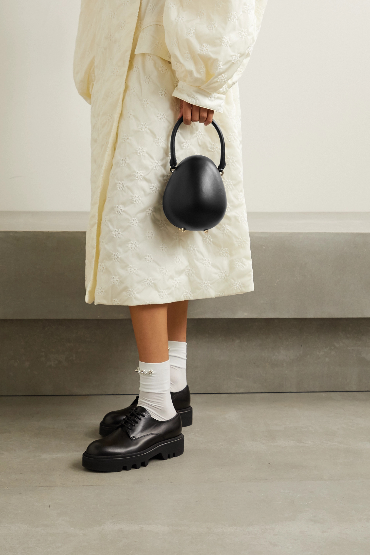 Simone Rocha Egg mini leather tote