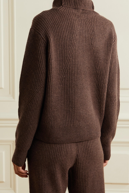 rag & bone Pierce ribbed cashmere turtleneck sweater