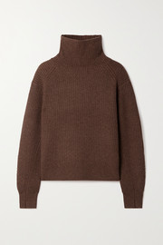 rag & bone Pierce ribbed cashmere turtleneck sweater